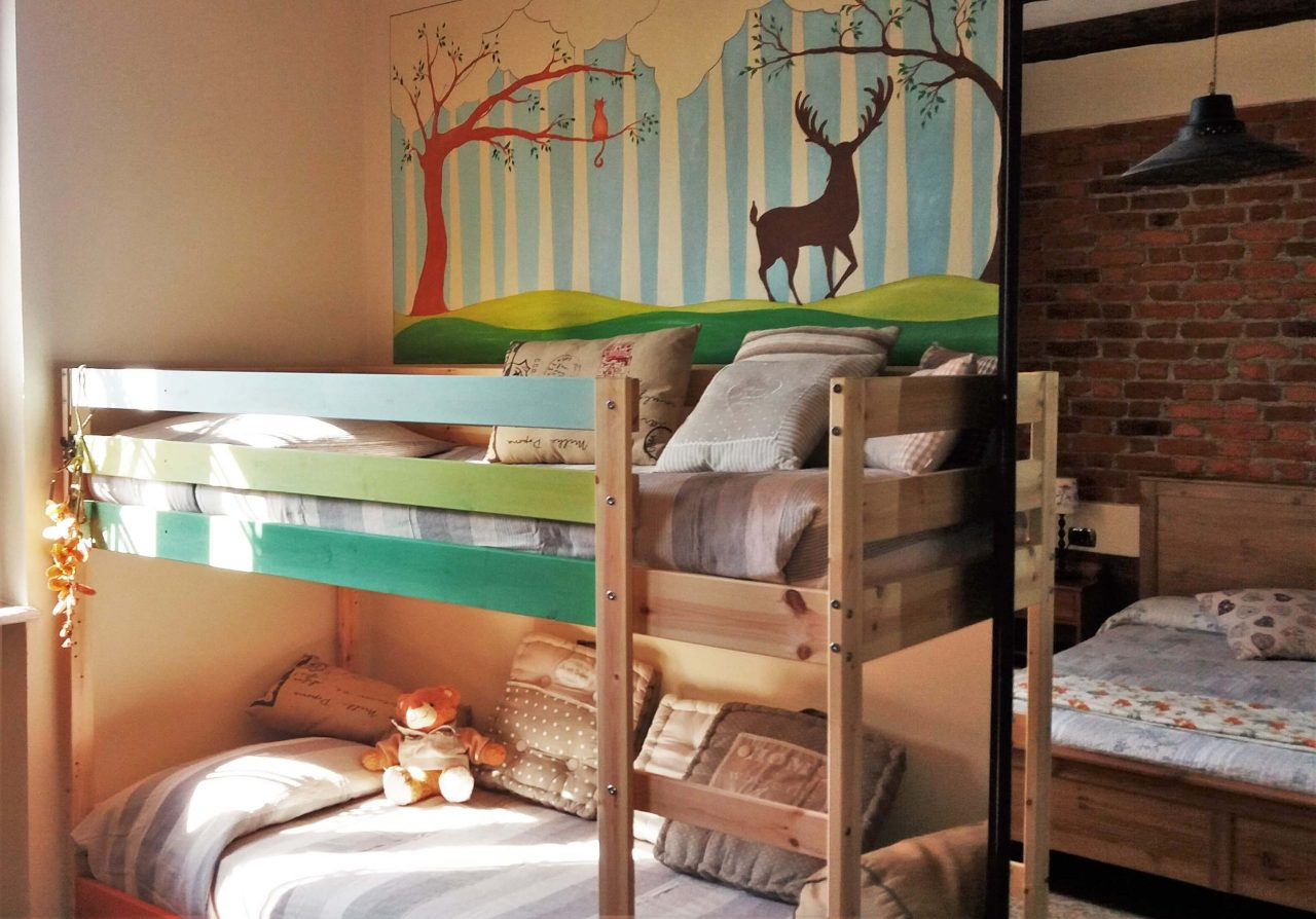 lanterna room with bunk bed